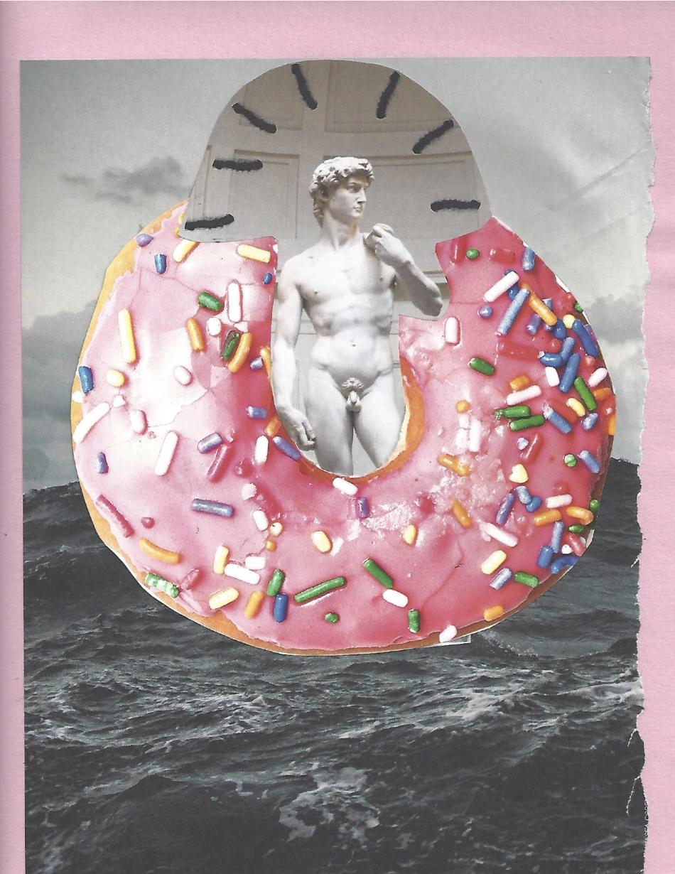 """""""David in Donut"""""""
